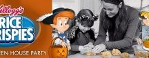 Celebrate Halloween with rice krispies  / by Rosina Hodges