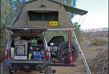 Camping Trucks & tents