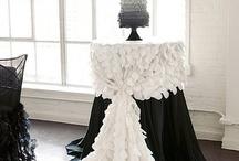 Hochzeit decoriren