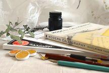 Handlettering / calligraphy, penmanship