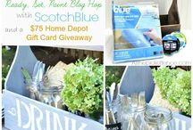 Summer Ideas & Decor / Summer decorating, design, crafts, DIY projects, and recipes