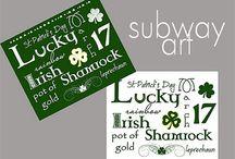 Printables-St Patricks Day / by Amy Baird Lynch