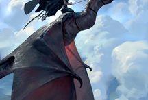 Fantasy creatures / Вымышленные существа