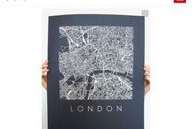 Art, Maps, illustrations & posters / Michelle Almeida