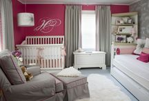 Hot Pink Nursery  / Bright pinks are a hot nursery trends. Here are some hot accent pieces and inspiration. / by Project Nursery | Junior