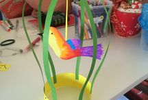 Kid's educational crafts and fun! / Crafts fro kids that can be just for fun or educational!