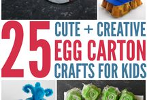 Egg carton ideas