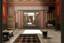 Immagini dell'Antica Roma / Affreschi sculture disegni antica Roma