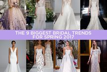 Wedding Dresses / What's new in Bridal Dresses will definitely affect the wedding bouquets!  But then, peonies go with any dress