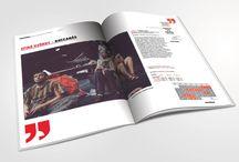 magazine design / by Michal Herbstman
