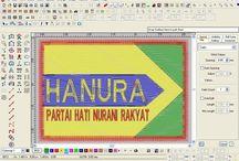 bikin logo hanura