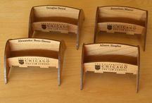Laser cut Businesscard holders
