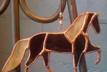 SG Horses / Stained glass horses