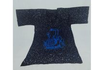 We have got beautiful blue batik shirts for you. They come in different sizes