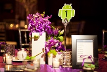 Flowers:  table tops - neu events