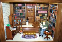 Miniature libraries and studies / Mini rooms