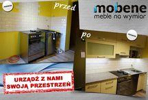 Before... After :) / Realizacje meblowe przed i po naszym wykonaniu.  Jesteście ciekawi jak to wygląda? :) #meble #dom #wykonanie #nawymiar #moda #mobene