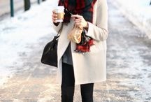 Winter layering / Things I want to wear in beautiful winters.