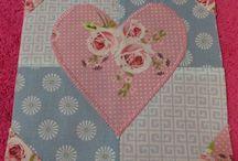 © Sallie's Splendid Sampler / A 100 block sampler quilt. My corner of the world made by me!
