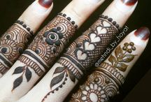 FOLK ART MEHANDI INDIAN