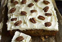 Tray bakes sweet