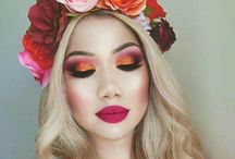 make up flowers