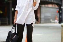 biala koszula / white shirt