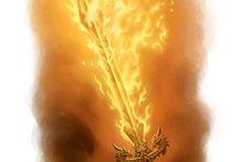 Espada de fuego