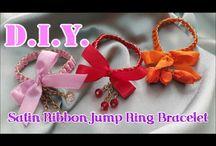 D.I.Y. Satin Rose, Flower Bracelets