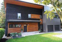 Cedar cottage trim