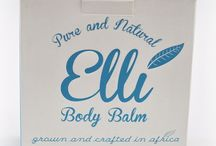 Elli Product Range / Natural & Organic Beauty Products.
