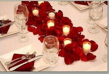 Table decorations for Valentines / Valentines ideas
