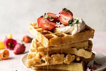 waffles / i have a brunch board but waffles deserve their own board too