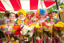 Grand Central Floral Parade / The Floral Parade promises to deliver a spectacular line up of fresh floral floats, street performers, carnival characters, stilt walkers, walking groups and live bands!