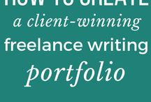 Freelance Writing Portfolio / Freelance writing portfolio tips, freelance writing portfolio articles, how to get a freelance writing portfolio.