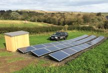 solar PV / A selection of Solar PV systems GMC Solar have installed over the last 3 years