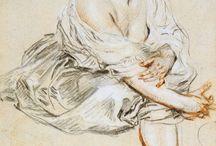 18C French Rococo Art