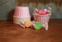 Baking Cups/ Nut Cups/ Cupcake Cups / by Spiral Sage