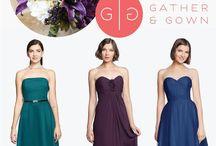 David Tutera for Gather & Gown Bridesmaids