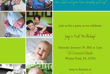 1st Bday Party Ideas / by Jen Post