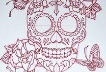 Ink Love - Skulls & Flowers / Planning my next tattoo! ❤️❤️❤️ / by Nikki S
