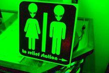 alien theme party