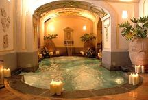 luxurious spa