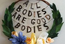 sweet self love & body positivity / beautiful powerful reminders to love ourselves with a fierceness!