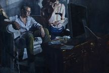 Andrew Gareth Young / Andrew Gareth Young - a Canadian artist. The main theme of his paintings is adulthood and transitional age. The nature of the artist's painting lies between the order and chaos. Official site http://dyoung.co/
