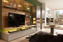 Wall Units & Bookcases / We specialise in contemporary wall units from a variety of German and French suppliers. In addition to some very interesting designs from other suppliers from Europe and further afield.