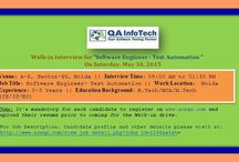 Jobs@QAInfoTech / We foster and strive to improve quality not only in our client products ' but also in our company's work environment. To this effect, we strongly believe in building a healthy work environment to offer the best of breed work-life balance for our employees. More at http://qainfotech.com/careers.html