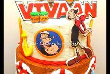 Popeye Cakes