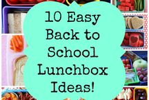 Lunch Box / Recipe ideas for the lunch box--yours and your kids'