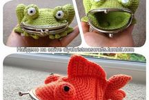 Portfel - żaba